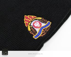 haft komputerowy na czapkach