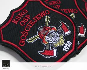 emblematy haftowane dla straży